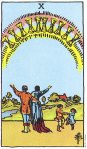10 of Cups Upright
