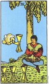4 of Cups