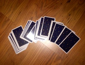 Jumping Cards
