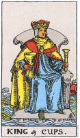 King of Cups Upright
