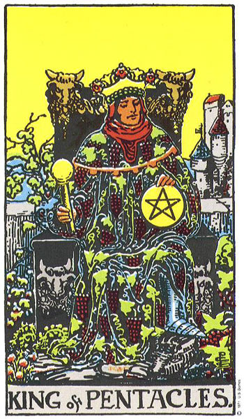 The King of Pentacles – Truly Teach Me Tarot