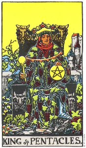 King of Pentacles Upright