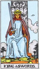 King of Swords Upright