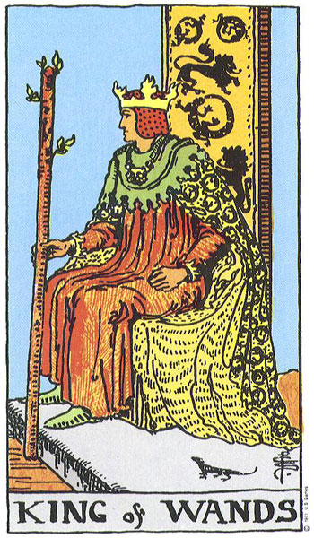 The King of Wands (1/2)