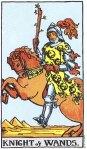 Knight of Wands Upright