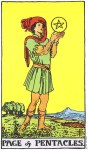 Page of Pentacles Upright