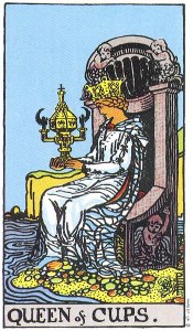 Queen of Cups Upright