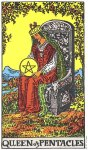 Queen of Pentacles Upright