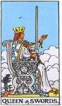 Queen of Swords Upright