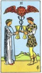 2 of Cups Upright