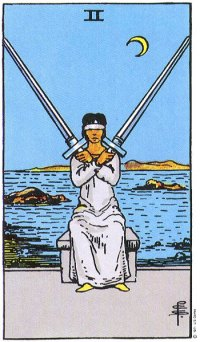 Image result for 2 of swords
