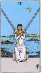 2 of Swords Upright