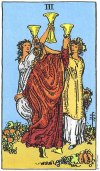 3 of Cups Upright