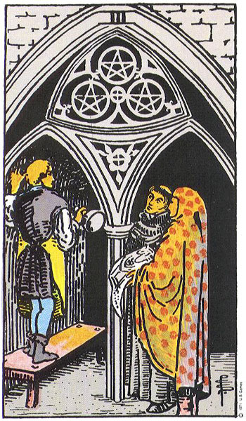 Three (III) Of Pentacles