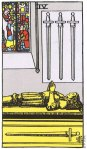 4 of Swords Upright