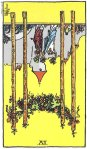4 of Wands Reversed