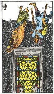 5 of Pentacles Reversed