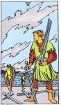 5 of Swords Upright