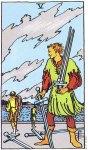5 of Swords Upright