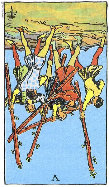 5 of Wands Rx - Card images are © Copyright U.S. Games Systems, Inc.""