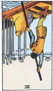 6 of Swords Reversed