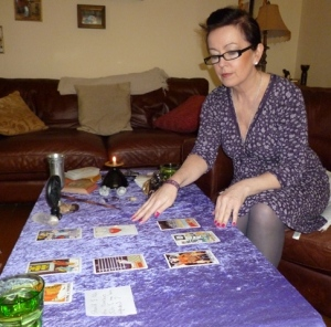 Doing a Tarot Reading