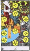 10 of Pentacles Reversed