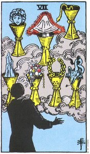 7 of Cups Upright