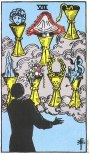 The Skull in The Seven of Cups – What does it mean?
