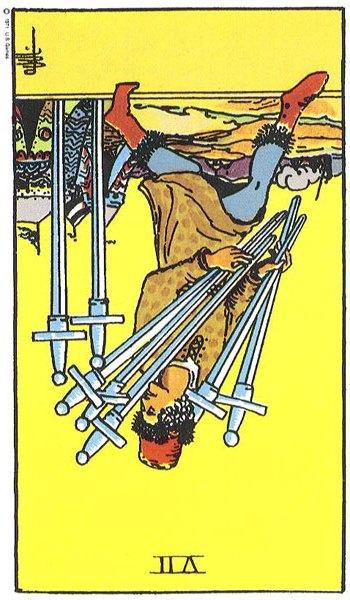 The Seven (VII) of Swords – Truly Teach Me Tarot