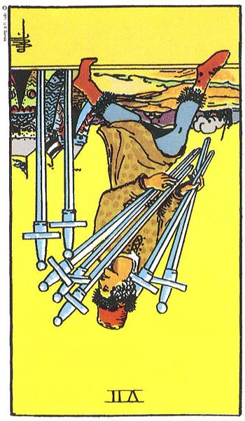 The Seven (VII) of Swords (3/3)