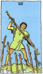7 of Wands Upright