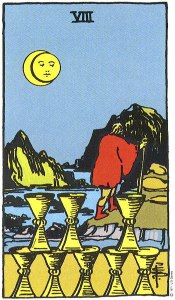 8 of Cups Upright