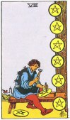 8 of Pentacles Upright