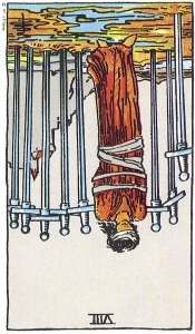 8 of Swords Reversed
