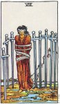 8 of Swords Upright