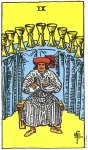 9 of Cups Upright