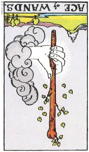 Ace if Wands Reversed