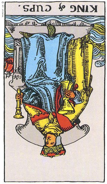 The King of Cups – Truly Teach Me Tarot