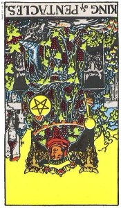 King of Pentacles Reversed