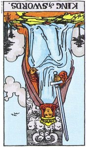 King of Swords Reversed