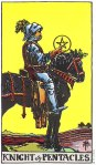 Knight of Pentacles Upright