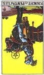 Knight of Pentacles Reversed