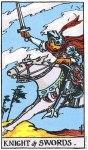Knight of Swords Upright