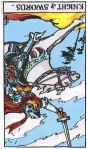 Knight of Swords Reversed