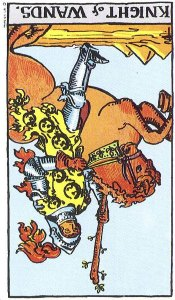 Knight of Wands Reversed