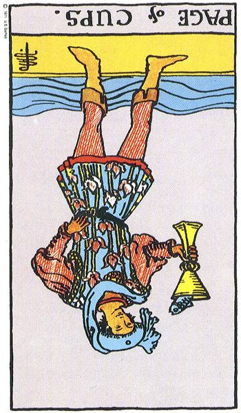 The Page of Cups – Truly Teach Me Tarot