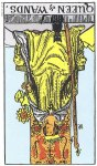 Queen of Wands Reversed