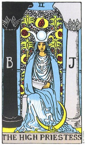 The High Priestess Upright