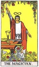The Magician (I) Upright